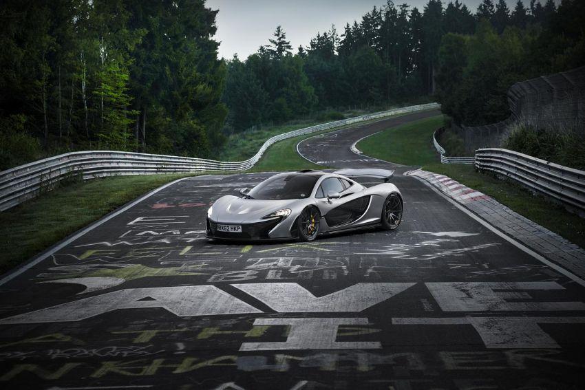 VIDEO: McLaren P1 vs the 'Ring in under 7 minutes Image #216413
