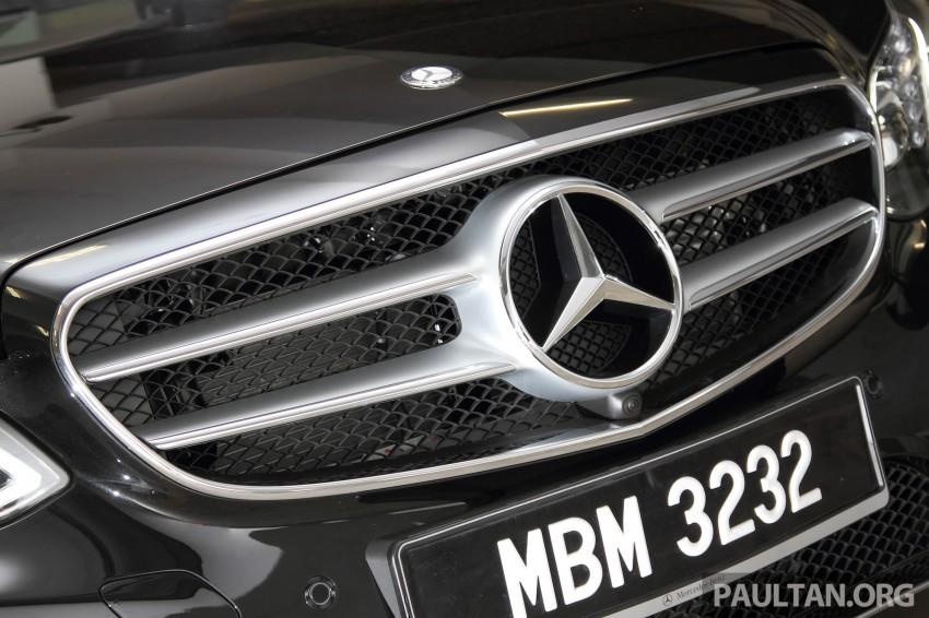 DRIVEN: W212 Mercedes-Benz E 400 Avantgarde Image #218625