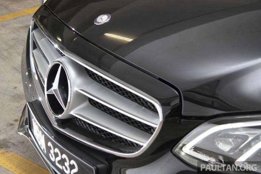 DRIVEN: W212 Mercedes-Benz E 400 Avantgarde Image #218624