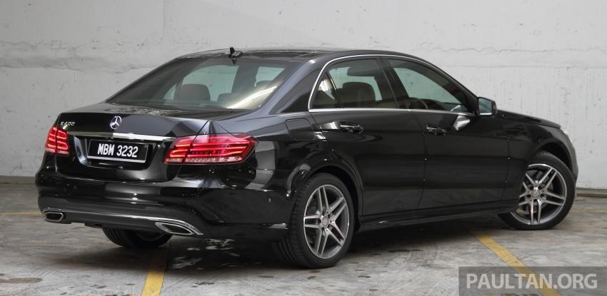 DRIVEN: W212 Mercedes-Benz E 400 Avantgarde Image #218611