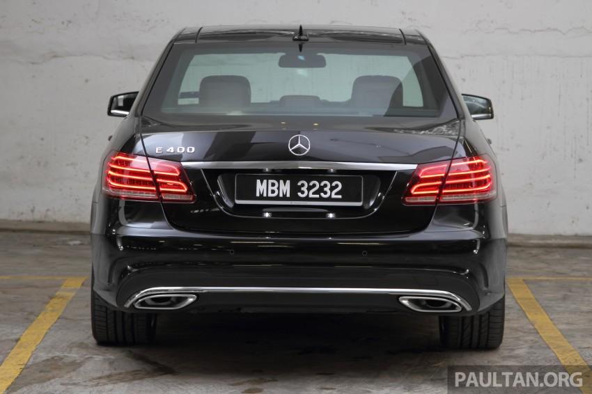 DRIVEN: W212 Mercedes-Benz E 400 Avantgarde Image #218609
