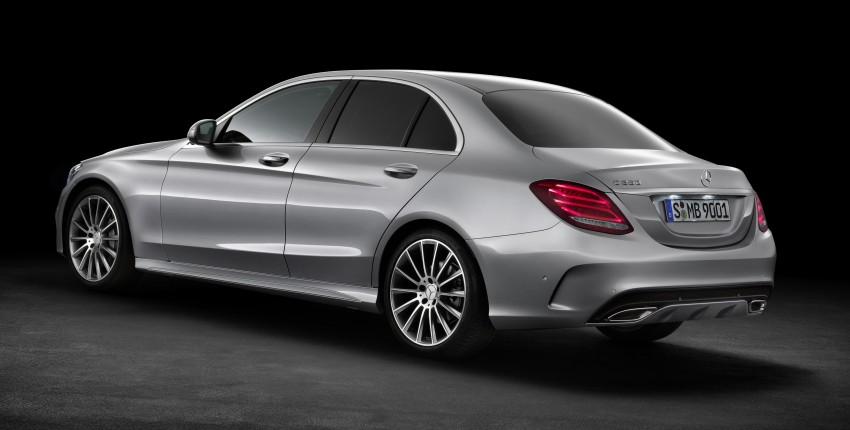 W205 Mercedes-Benz C-Class: first details released! Image #217632