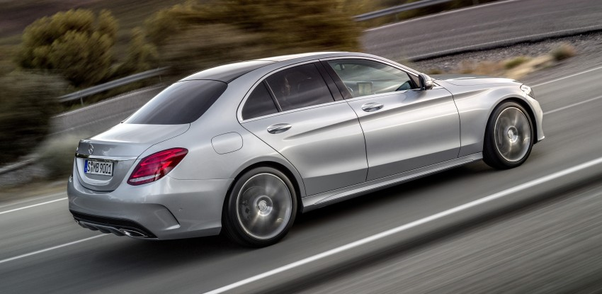 W205 Mercedes-Benz C-Class: first details released! Image #217649