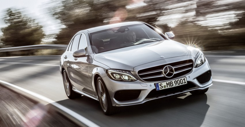 W205 Mercedes-Benz C-Class: first details released! Image #217651
