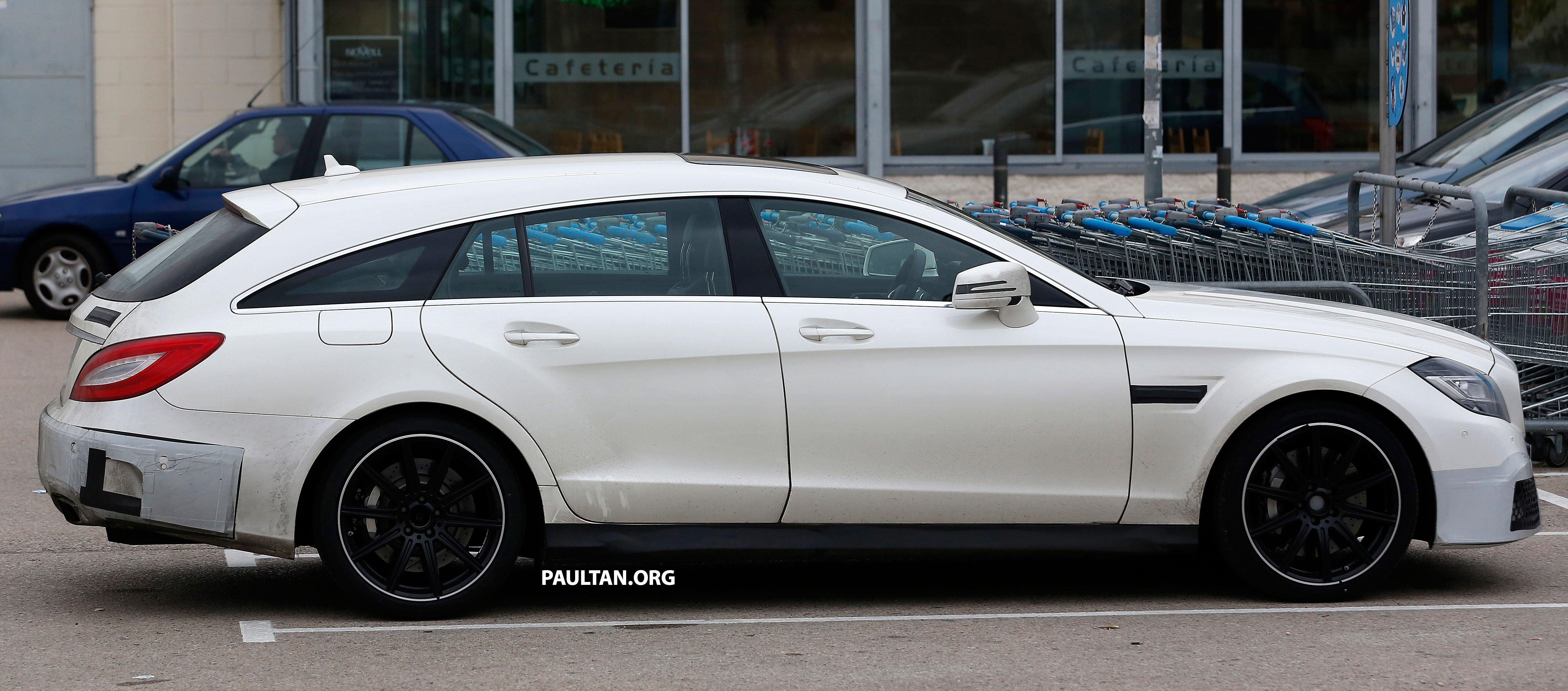 Mercedes-Benz CLS-Class Shooting Brake facelift to get ...