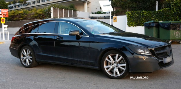 Mercedes-Benz CLS-Class Shooting Brake facelift to get 'floating