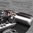 All-New Ford Mustang: Interior Sketch