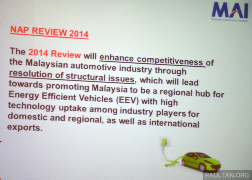 NAP 2014's EEV policy to take into account entire ecosystem, including manufacturing methods Image #218342