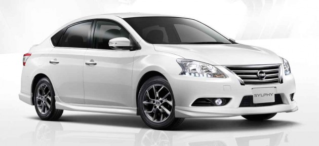 Nissan Sylphy SV Thailand-01