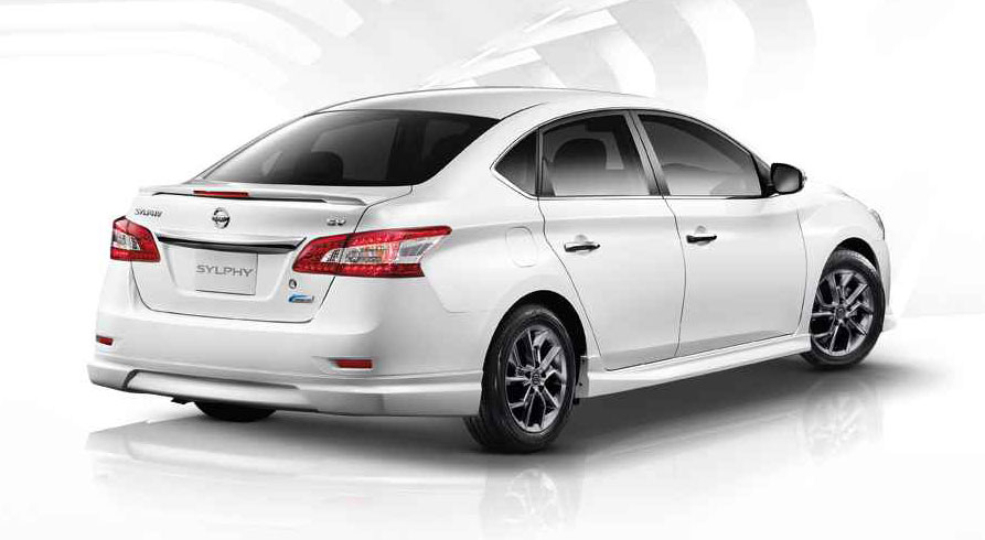 Nissan Sylphy 2018 >> Nissan Sylphy SV: bodykit, black cabin for Thailand Image 216385