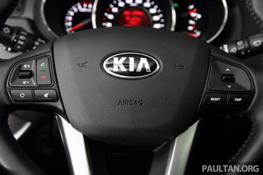 Kia Rio 1.4 SX Test Drive Review Image #219255
