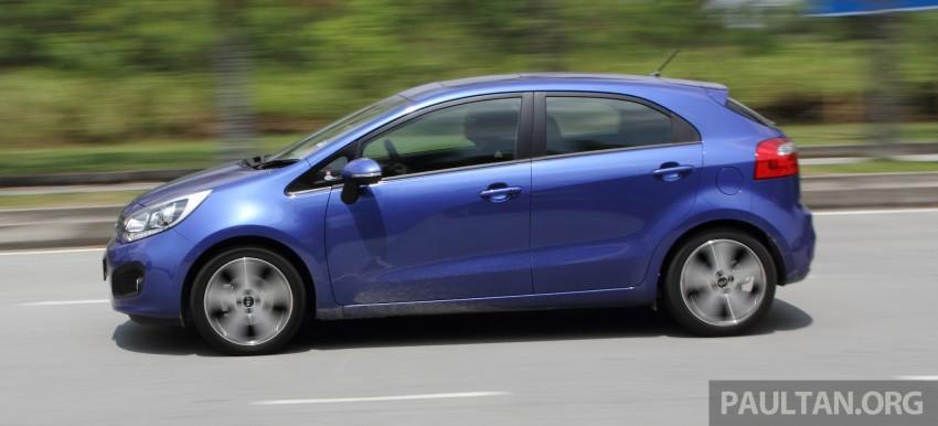 Kia Rio 1.4 SX Test Drive Review Image #219247
