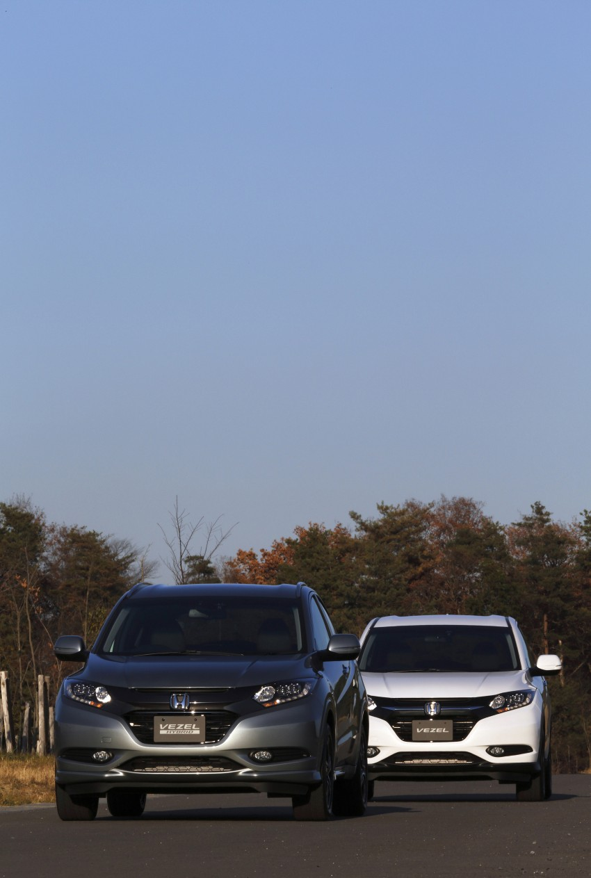 MEGA GALLERY: Honda Vezel goes on sale in Japan Image #218487