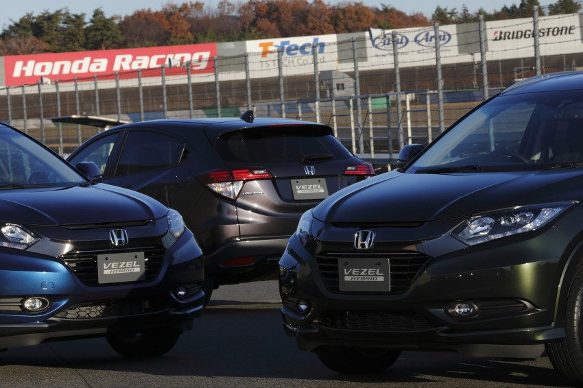 MEGA GALLERY: Honda Vezel goes on sale in Japan Image #218494
