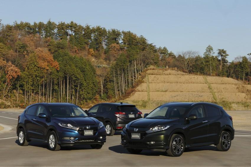 MEGA GALLERY: Honda Vezel goes on sale in Japan Image #218477