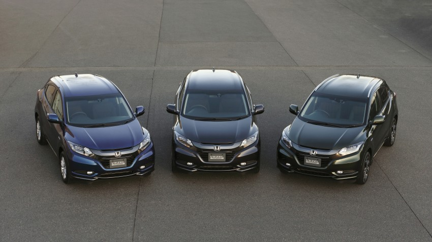 MEGA GALLERY: Honda Vezel goes on sale in Japan Image #218480