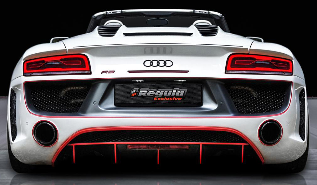 Audi R8 V10 Spyder Gets Regula Tuning Bodykit Paul Tan