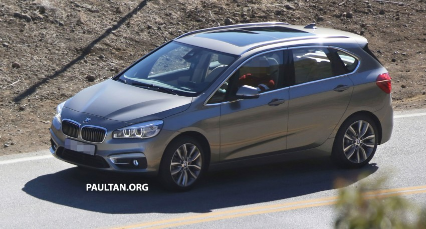 BMW 2-Series Active Tourer completely undisguised! Image #217573