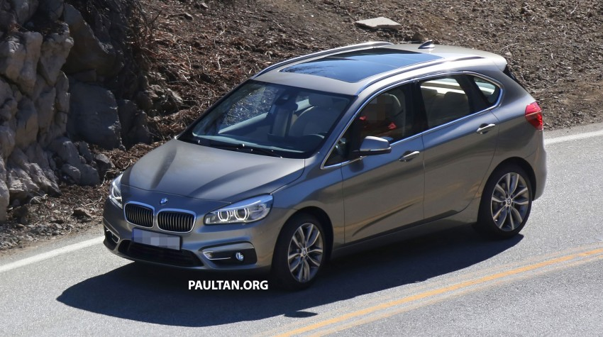 BMW 2-Series Active Tourer completely undisguised! Image #217575