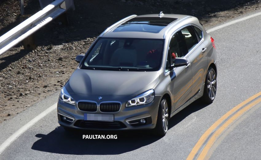 BMW 2-Series Active Tourer completely undisguised! Image #217576