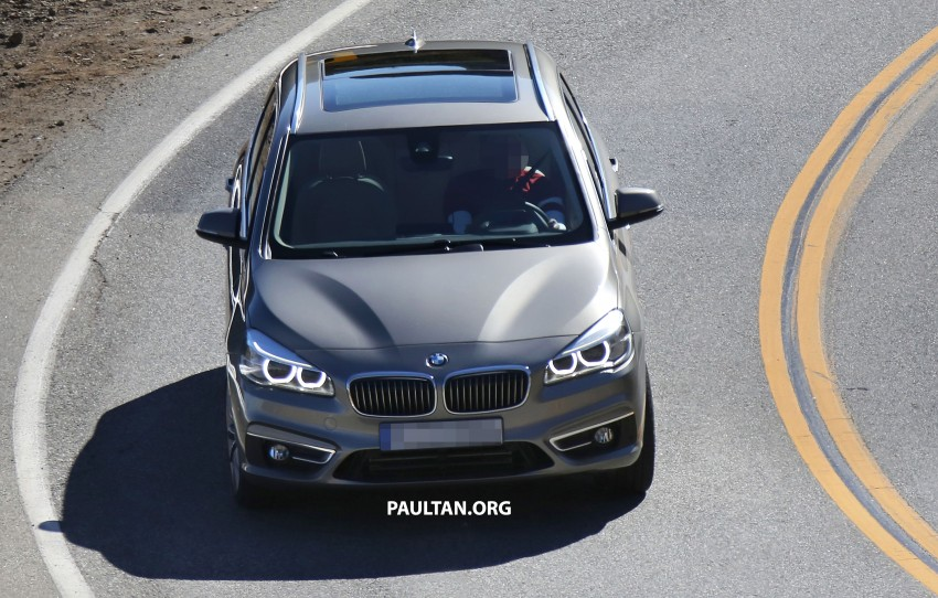 BMW 2-Series Active Tourer completely undisguised! Image #217577