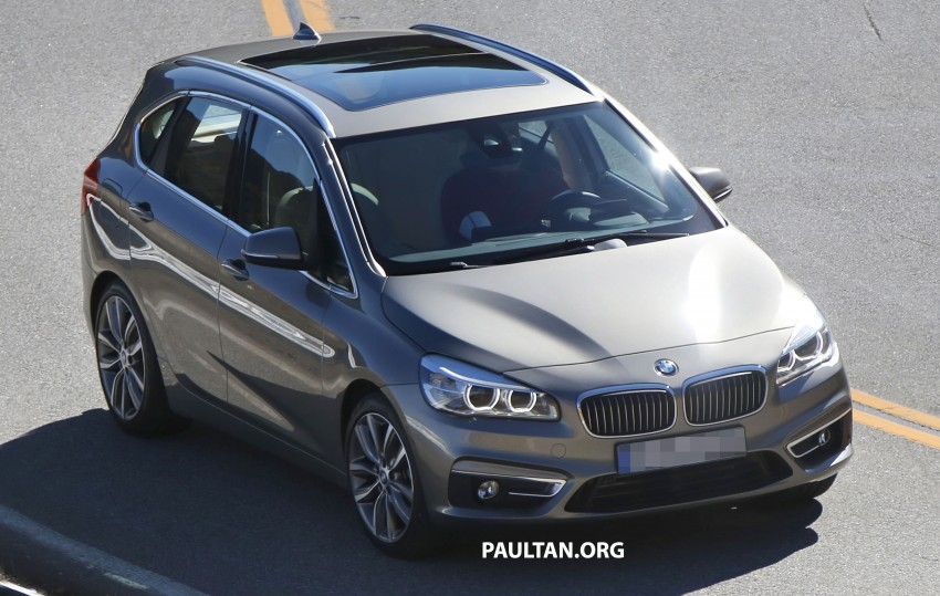 BMW 2-Series Active Tourer completely undisguised! Image #217578