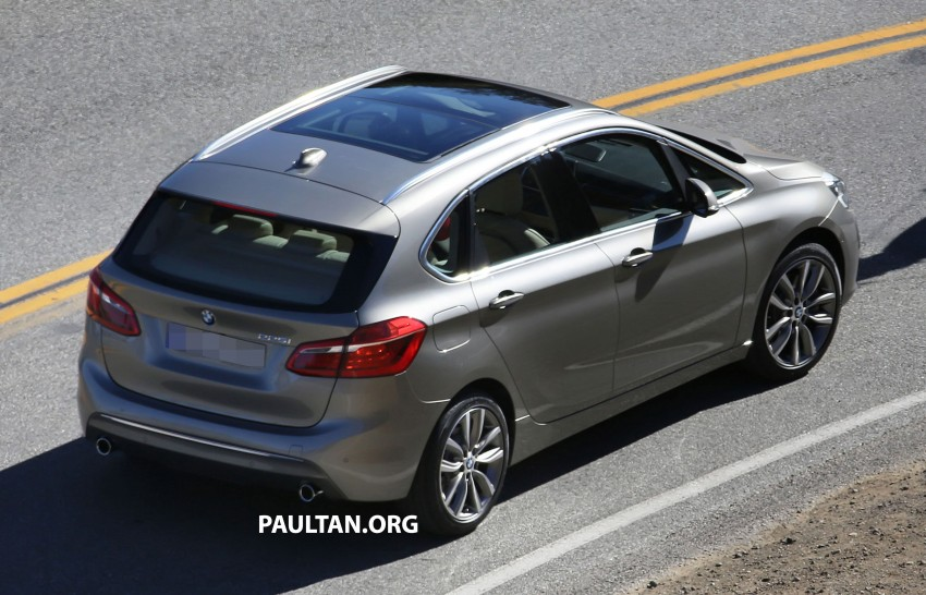 BMW 2-Series Active Tourer completely undisguised! Image #217580