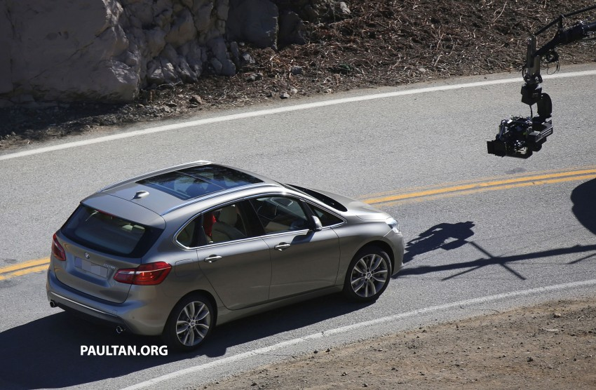 BMW 2-Series Active Tourer completely undisguised! Image #217581