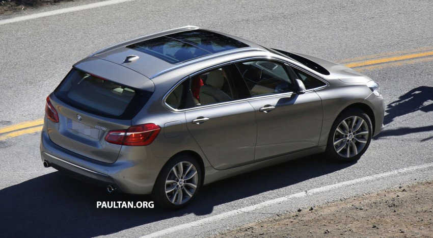 BMW 2-Series Active Tourer completely undisguised! Image #217582