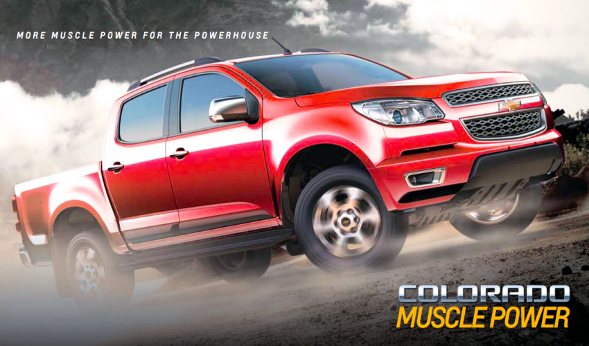 Chevrolet Colorado Muscle Edition going to Mid Valley roadshow – new Duramax engine, 6 M/T, MyLink Image #219203