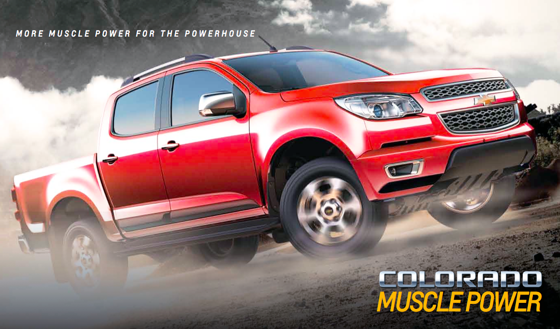 Chevy Colorado 2014 >> Chevrolet Colorado Muscle Edition: new Duramax engine, 6 M/T, MyLink