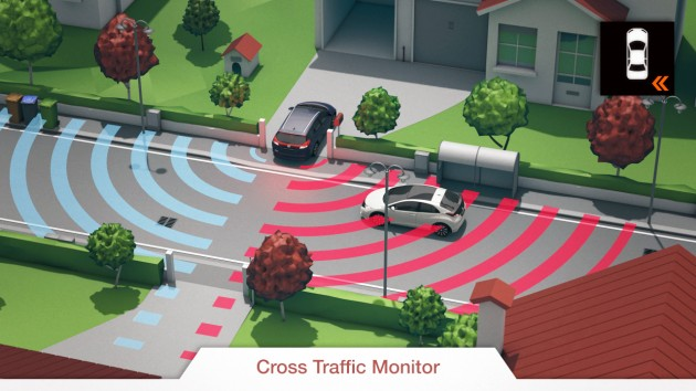 Image result for cross traffic monitor honda