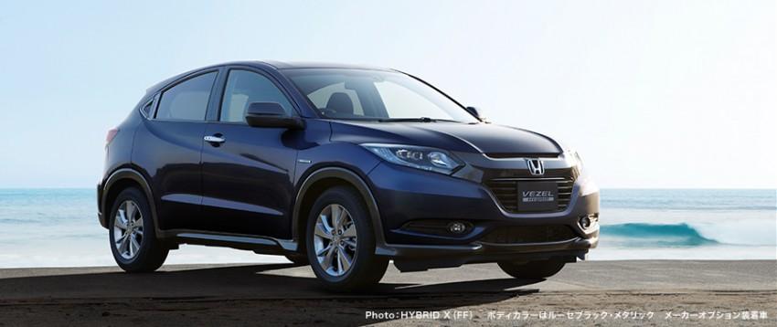 MEGA GALLERY: Honda Vezel goes on sale in Japan Image #218395