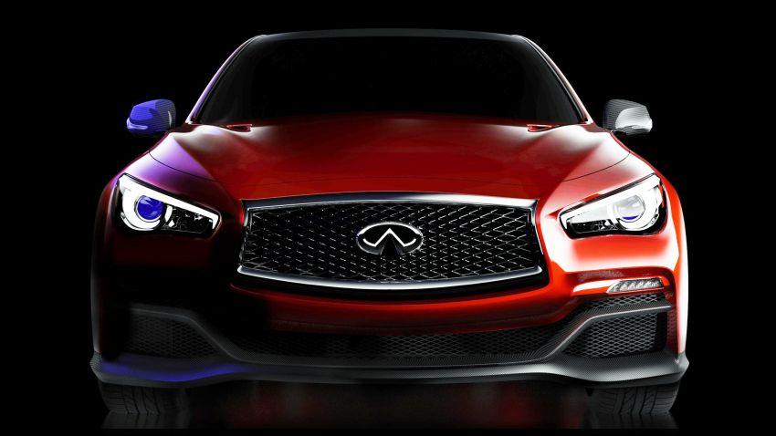 Infiniti Q50 Eau Rouge concept for 2014 Detroit show Image #216152