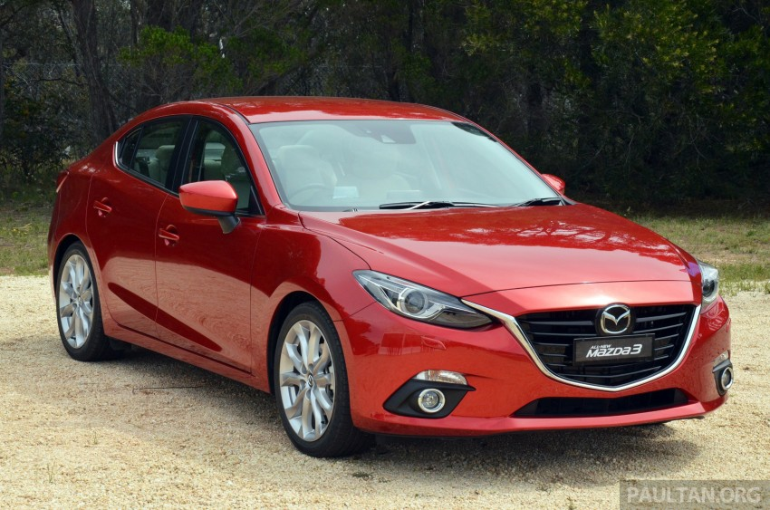 DRIVEN: Mazda3 third-gen 2.0 and 2.5 in Australia Image #218742