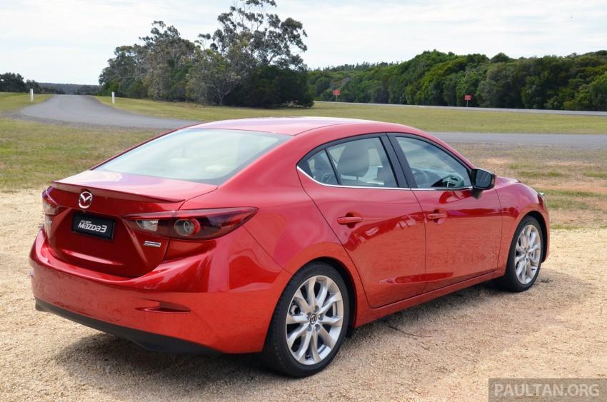 DRIVEN: Mazda3 third-gen 2.0 and 2.5 in Australia Image #218744