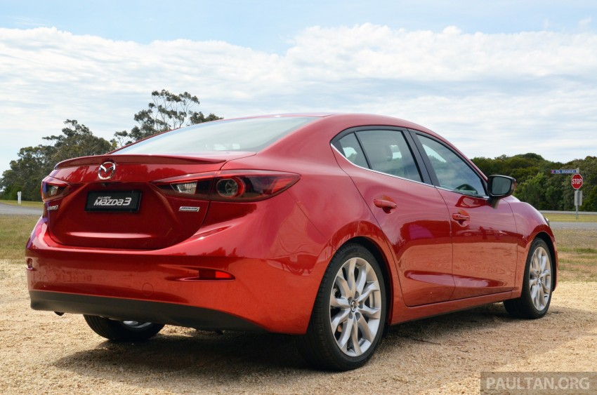 DRIVEN: Mazda3 third-gen 2.0 and 2.5 in Australia Image #218745