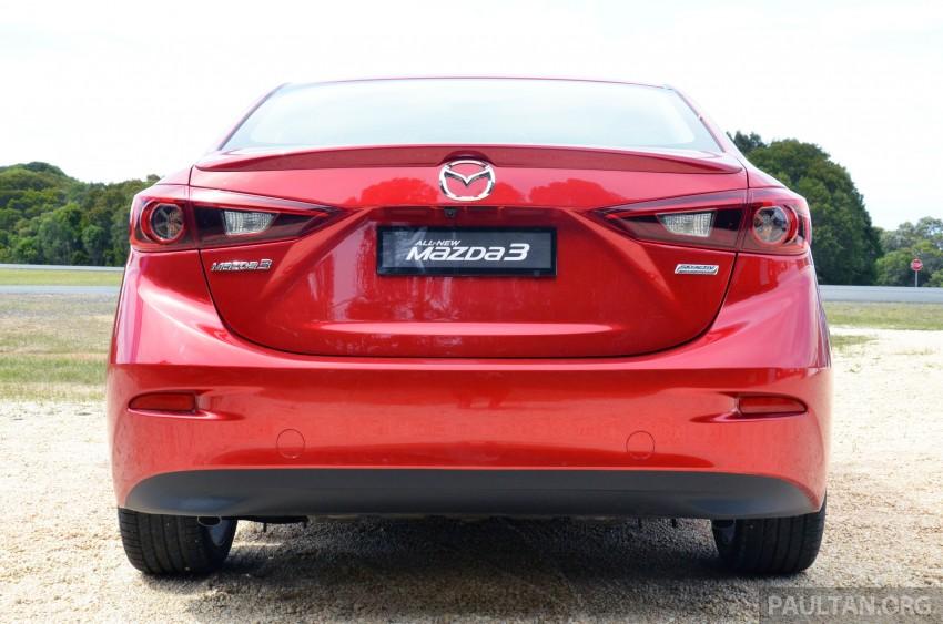 DRIVEN: Mazda3 third-gen 2.0 and 2.5 in Australia Image #218746