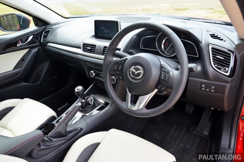 DRIVEN: Mazda3 third-gen 2.0 and 2.5 in Australia Image #218751