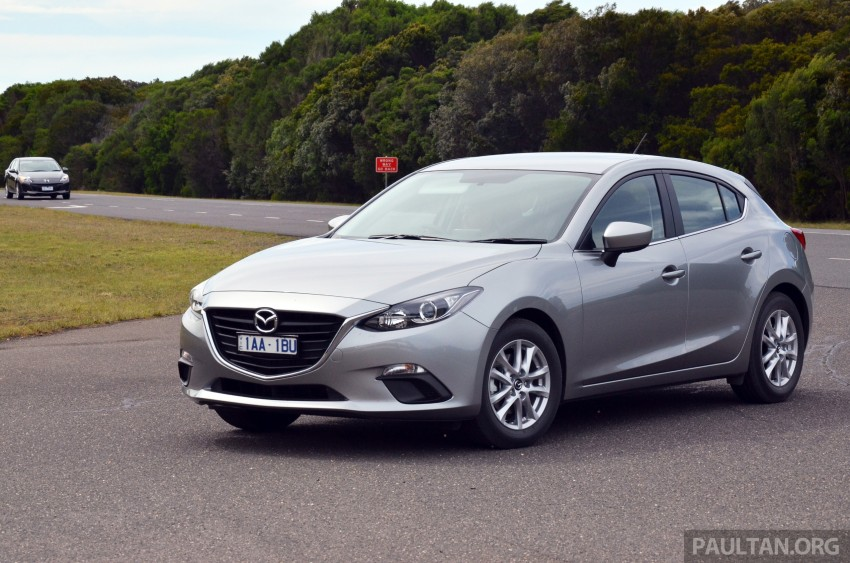 DRIVEN: Mazda3 third-gen 2.0 and 2.5 in Australia Image #218777