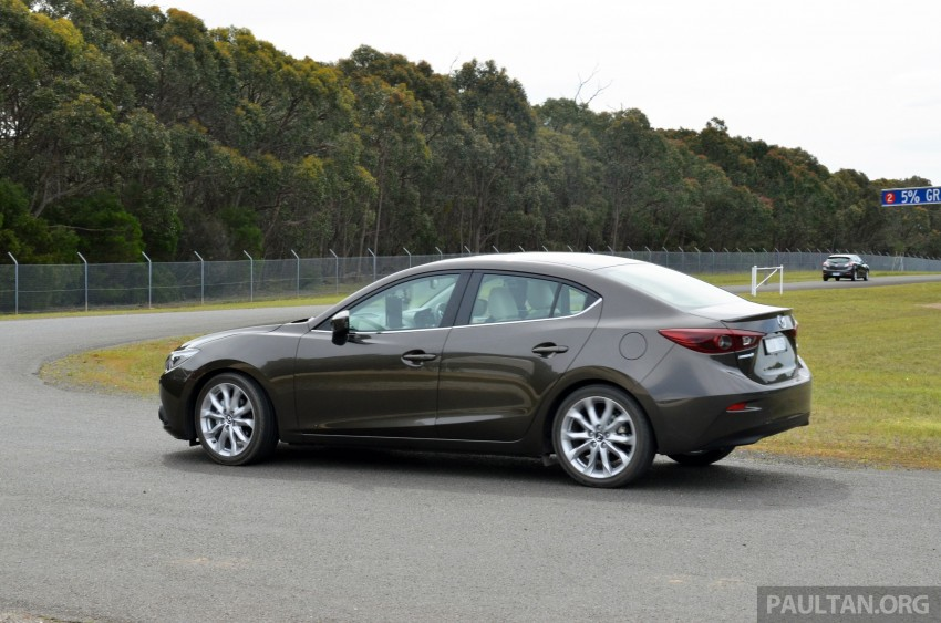 DRIVEN: Mazda3 third-gen 2.0 and 2.5 in Australia Image #218780