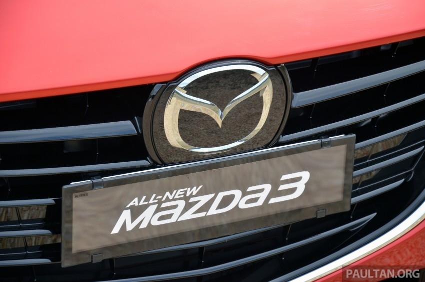 DRIVEN: Mazda3 third-gen 2.0 and 2.5 in Australia Image #218785