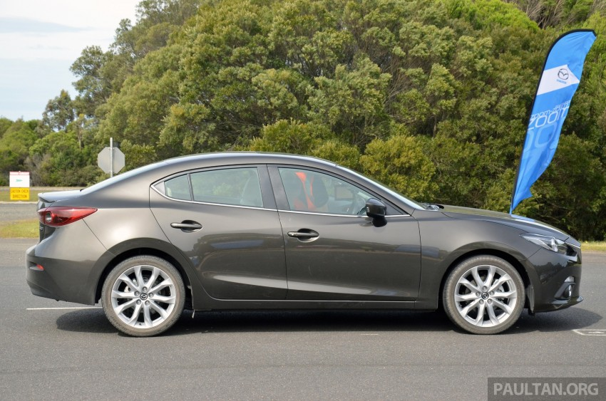 DRIVEN: Mazda3 third-gen 2.0 and 2.5 in Australia Image #218798