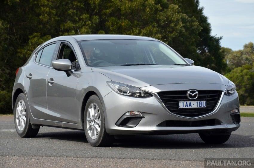 DRIVEN: Mazda3 third-gen 2.0 and 2.5 in Australia Image #218799