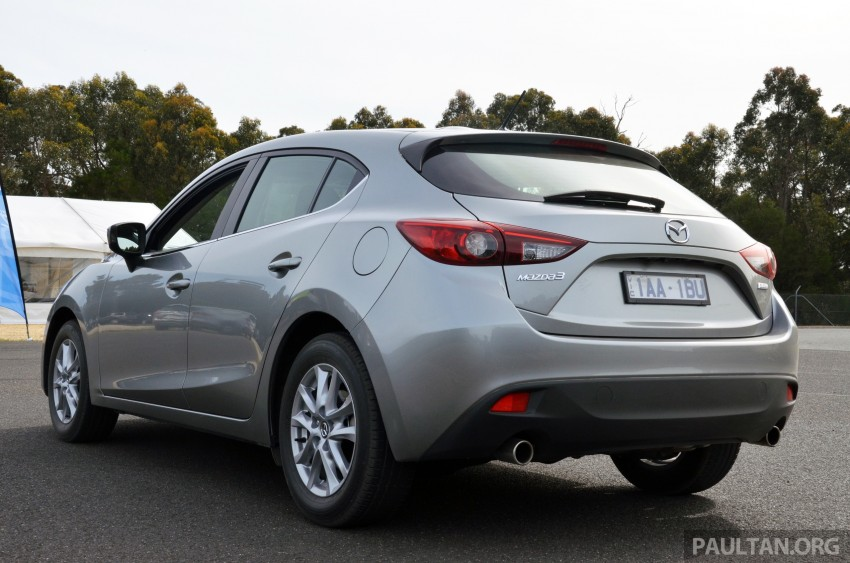 DRIVEN: Mazda3 third-gen 2.0 and 2.5 in Australia Image #218803