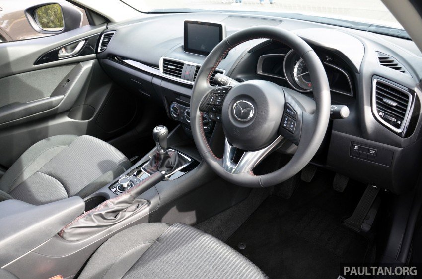 DRIVEN: Mazda3 third-gen 2.0 and 2.5 in Australia Image #218808