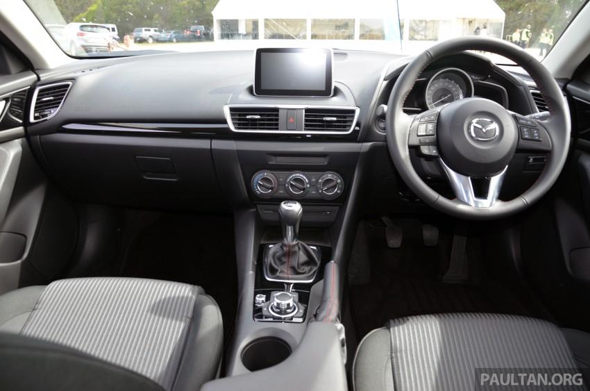DRIVEN: Mazda3 third-gen 2.0 and 2.5 in Australia Image #218809