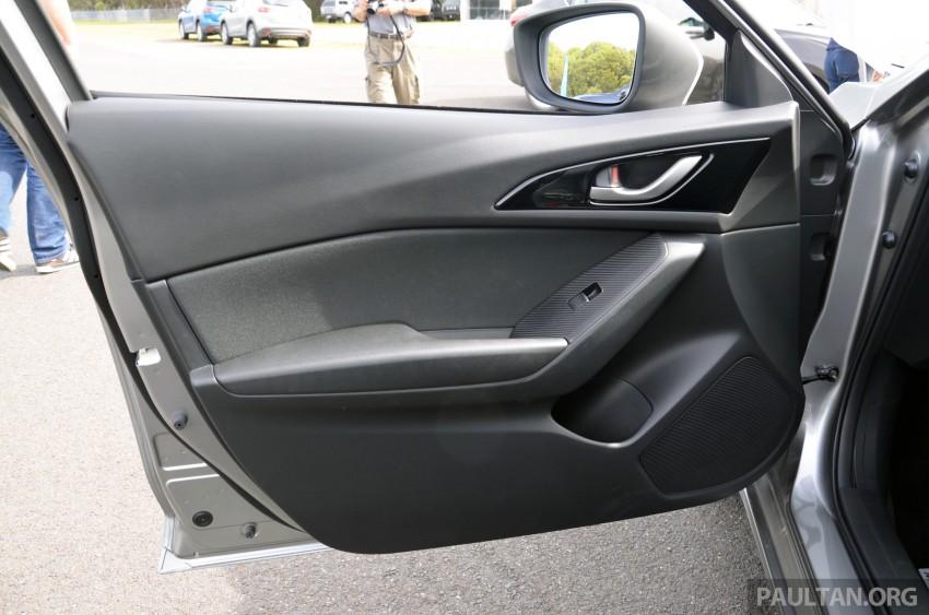 DRIVEN: Mazda3 third-gen 2.0 and 2.5 in Australia Image #218815