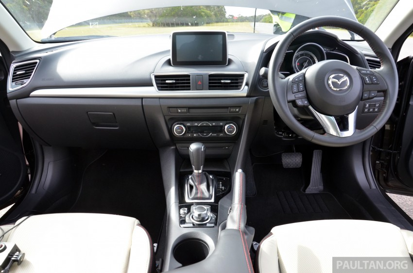 DRIVEN: Mazda3 third-gen 2.0 and 2.5 in Australia Image #218819