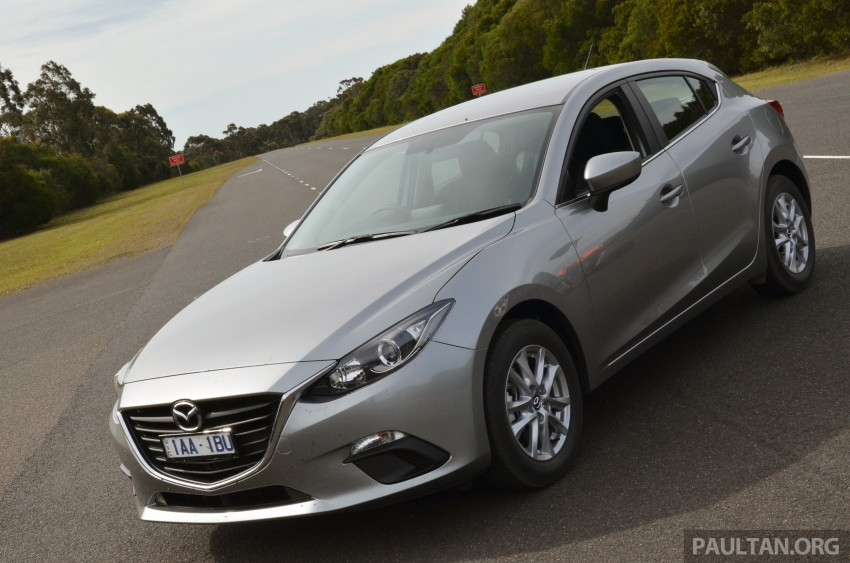 DRIVEN: Mazda3 third-gen 2.0 and 2.5 in Australia Image #218821